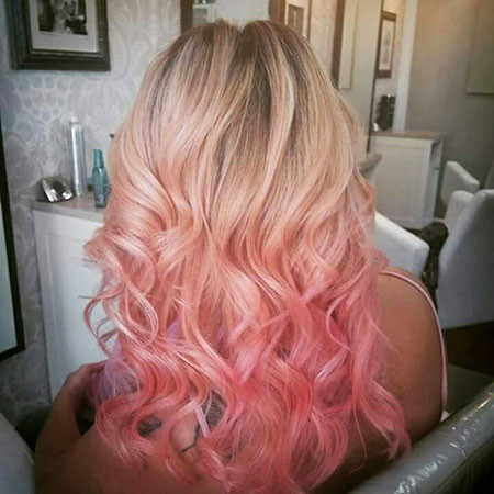 14-Blonde-and-Pink-Ombre-Highlights-612 Blonde And Pink Ombre Hair
