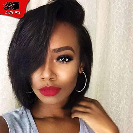 20-Short-Straight-Hair-Black-Women-412 Short Haircuts for Black Women