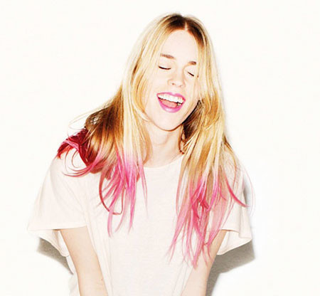 28-Pink-Dip-Dye-Hair-626 Blonde And Pink Ombre Hair