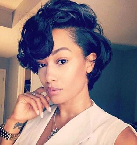 8-Short-Hairtyles-for-Black-Hair-400 Short Haircuts for Black Women