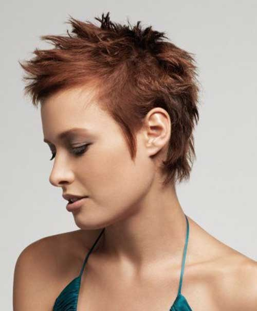 Amazing-Short-Spiky-Haircut-for-Women Spiky Short Haircuts