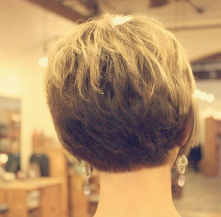 Back-view-of-short-hairstyles-for-women Back View of Short Haircuts