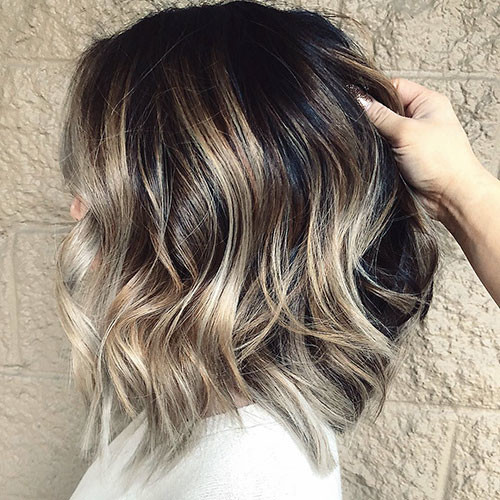 Balayage-Hair-Color Best Short Hairstyles for Women 2019