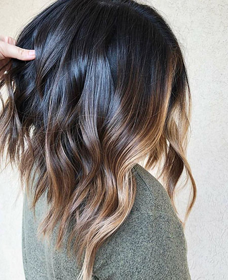 Balayage-for-Dark-Hair Amazing Short Ombre Hairstyles
