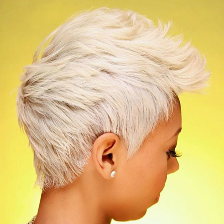 Blonde-Pixie Short Platinum Blonde Hairstyles