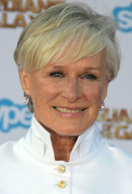 Casual-Pixie Short Hairstyles for Women Over 50