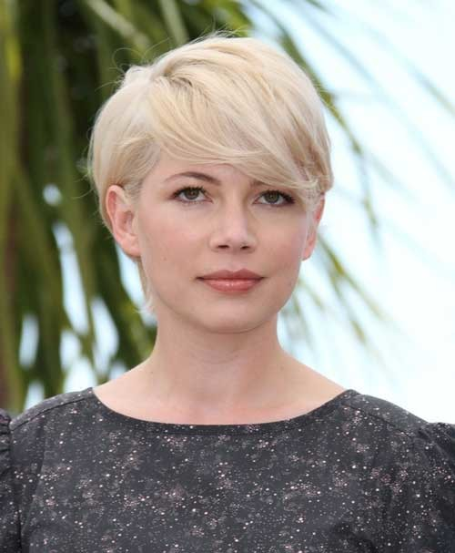Celebrity-Short-Blonde-Haircut Popular Celebrity Short Haircuts