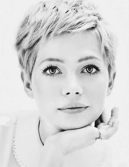 Popular Celebrity Short Haircuts