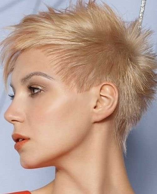 Hippy-Spiked-Short-Haircut-for-Women Spiky Short Haircuts