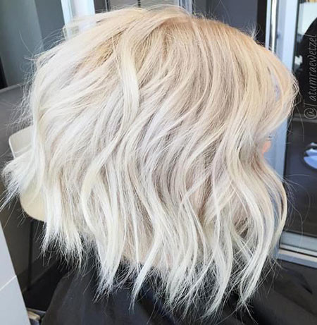 Ice-Blonde-Hair Short Platinum Blonde Hairstyles