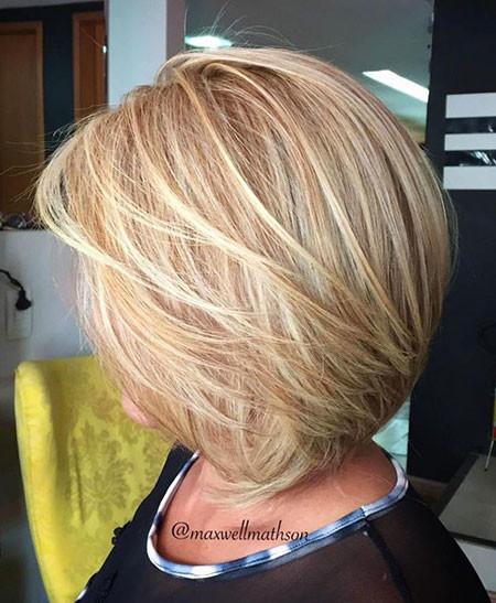 Mesmerising-Grey-Layer Best Layered Bob Hairstyles