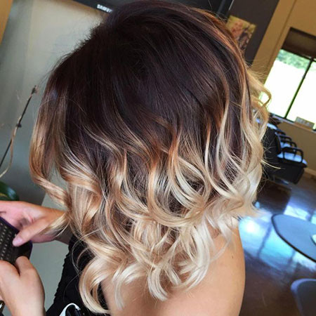 Multiple-Color-Combined Amazing Short Ombre Hairstyles