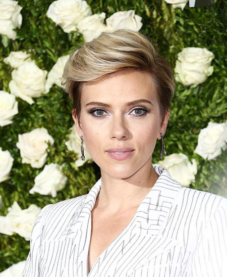 Nice-Style Best Scarlett Johansson Short Hair
