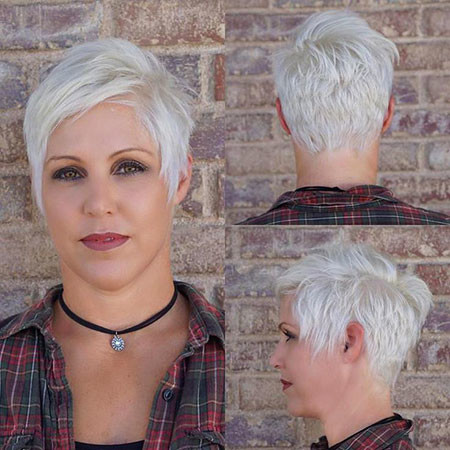 Pixie-Cut Best Short White Blonde Hair