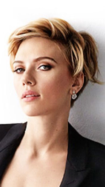 Pixie-Haircut-Fine Best Scarlett Johansson Short Hair