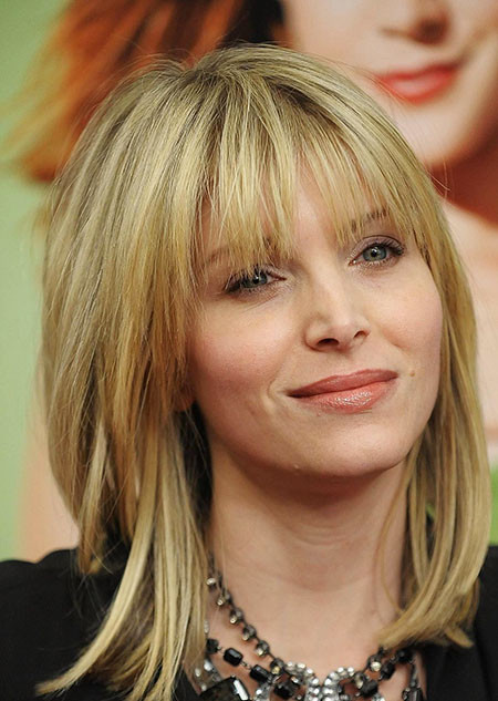 Short-Hairstyle-With-Bangs-For-Women-Over-50 New Short to Medium Hairstyles with Bangs