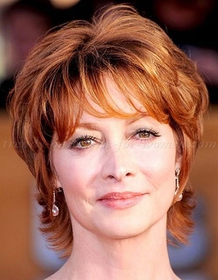 Short Hairstyles for Women Over 50 - The UnderCut