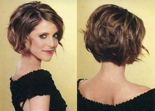 Short-stacked-bob Nice Short Bob Hairstyles