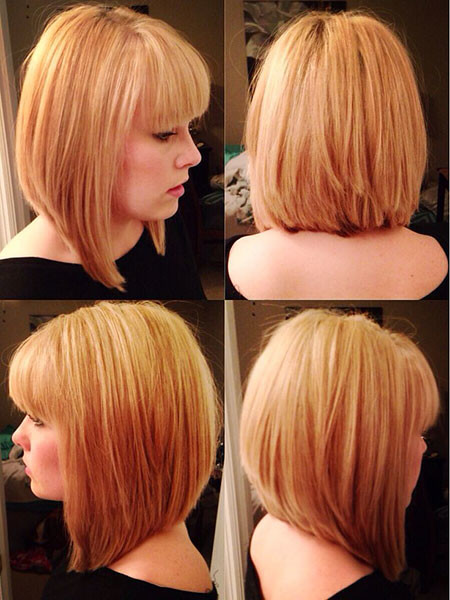 Short-to-Medium-Hairstyles-with-Bangs-2 New Short to Medium Hairstyles with Bangs