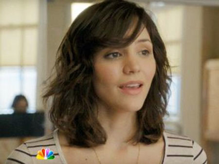 Side-Bangs-Soft-Waves Short Hairstyles for Wavy Hair