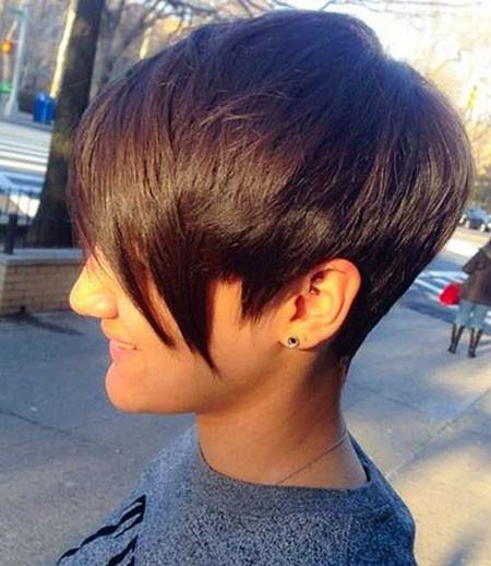 Trendy-Long-Pixie-Haircuts Short Trendy Hairstyles