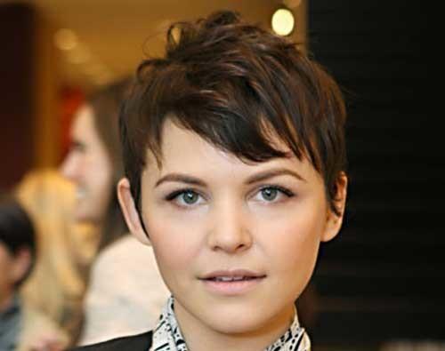 ginnifer-goodwin-short-hair-2012 Popular Celebrity Short Haircuts