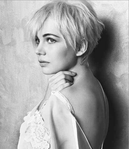 michelle-williams-pixie-haircut-2012 Popular Celebrity Short Haircuts