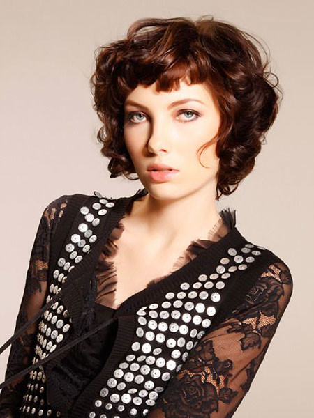 11-Punk-Curly-Hair-456 Short Curly Hairstyles for Women