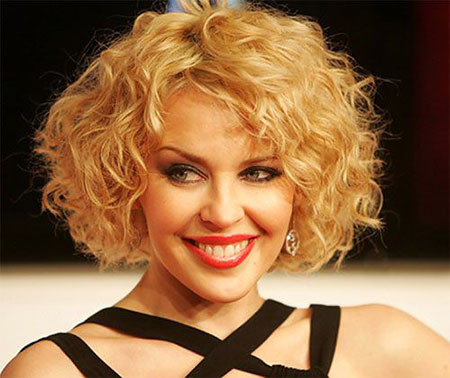 12-Curly-Bob-Style-Hair-457 Short Curly Hairstyles for Women