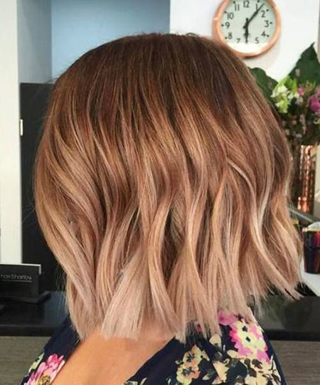 13-Caramel-Ombre-Short-Hair-488 Short Ombre Hairstyles