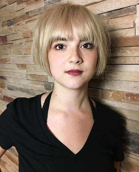 17-Symmetrical-Hairtyles-567 Short Hairstyles for Women
