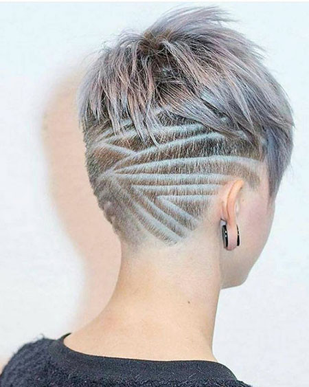 20-Short-Haircuts-Shaved-in-Back-706 Short Choppy Haircuts