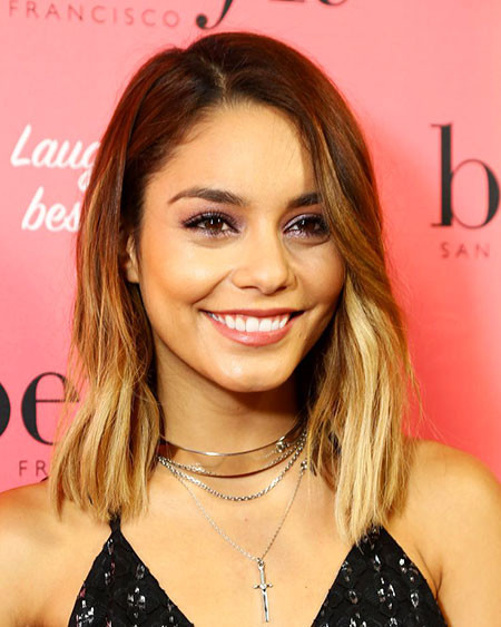 21-Vanessa-Hudgens-2017-Blonde-496 Short Ombre Hairstyles