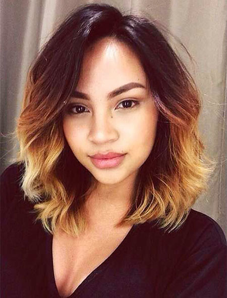 23-Short-Ombre-Hair-Black-498 Short Ombre Hairstyles