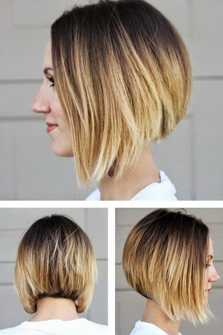 29-Blonde-Ombre-Bob-Hair-504 Short Ombre Hairstyles