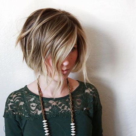 38-Short-Hair-Balayage-Bob-588 Short Hairstyles for Women