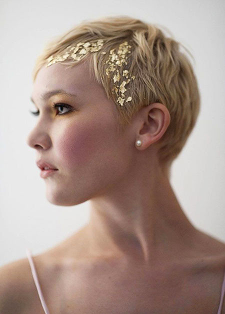 7-Wedding-Hairtyle-2018-Short-Hair-597 Bridal Hairstyles for Short Haircut