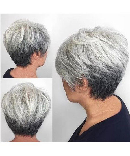 8-Back-of-Short-Haircuts-for-Women-Over-50-664 Short Hairstyles for Women Over 50