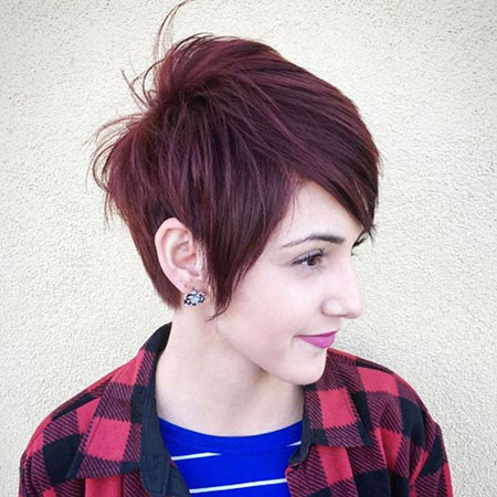 8-Short-Haircuts-Choppy-Layers-Long-Pixie-694 Short Choppy Haircuts