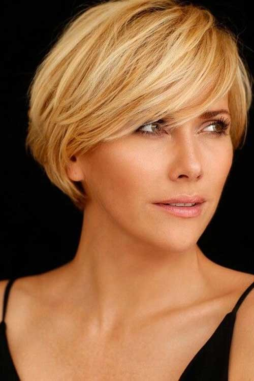 Anouk-Smulders-Short-Hair Most Preferred Short Haircuts for Classy Ladies