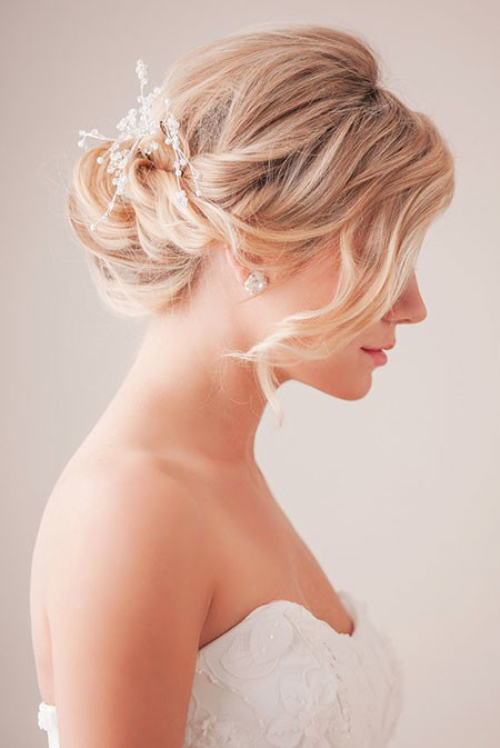 Bridal-Hairstyle-for-Short-Hair Bridal Hairstyles for Short Haircut