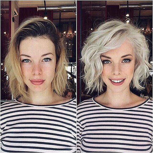 Curly-Hair Best Short Hairstyles for Girls 2019