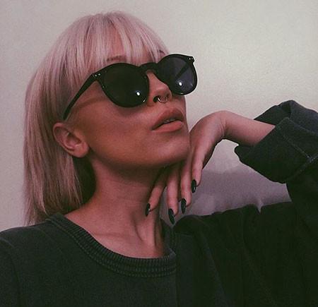 Fine-Hair-with-Bangs Short Blonde Hair with Bangs