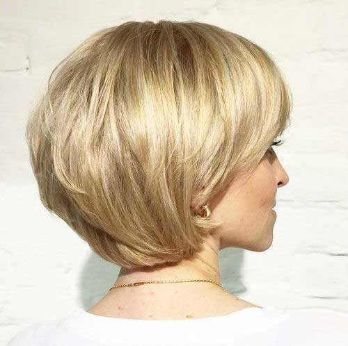 Layered-Haircut-for-Short-Hair Most Preferred Short Haircuts for Classy Ladies