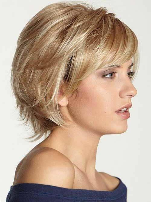 Shaggy-Short-Hair Most Preferred Short Haircuts for Classy Ladies