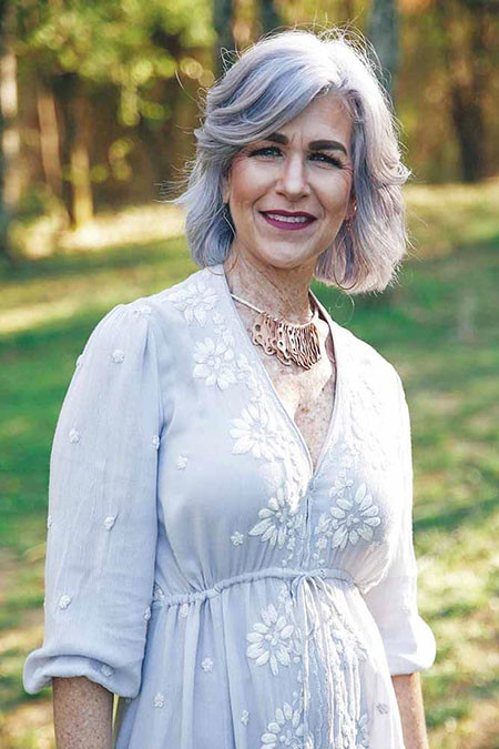 Short-Hairstyle-for-Women-Over-50 Short Hairstyles for Women Over 50