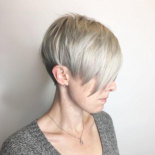 Straight-Hair Best Short Hairstyles for Girls 2019