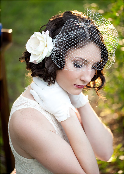 wedding-hairstyles-short-thick-hair Best Wedding Hairstyles for Short Hair