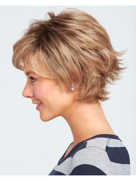 18-Raquel-Welch-Voltage-Wig-777 Short Layered Haircuts