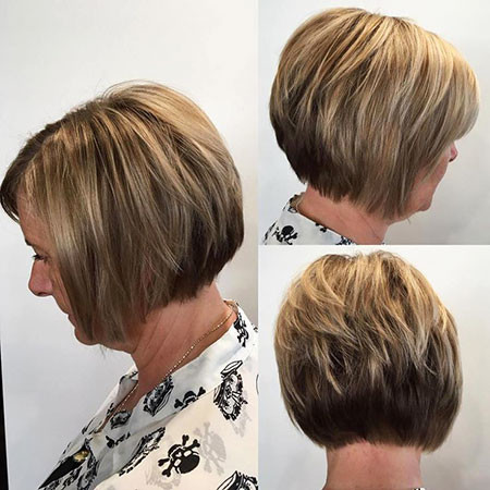 9-Short-Layered-Hair-for-Elderly-Ladies-768 Short Layered Haircuts